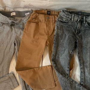 Boys pants Jeans joggers lot straight skinny 6